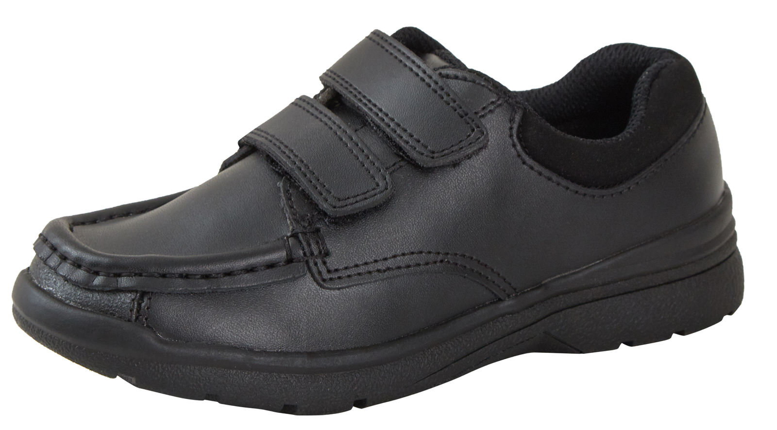 Boys Leather School Shoes Scuff