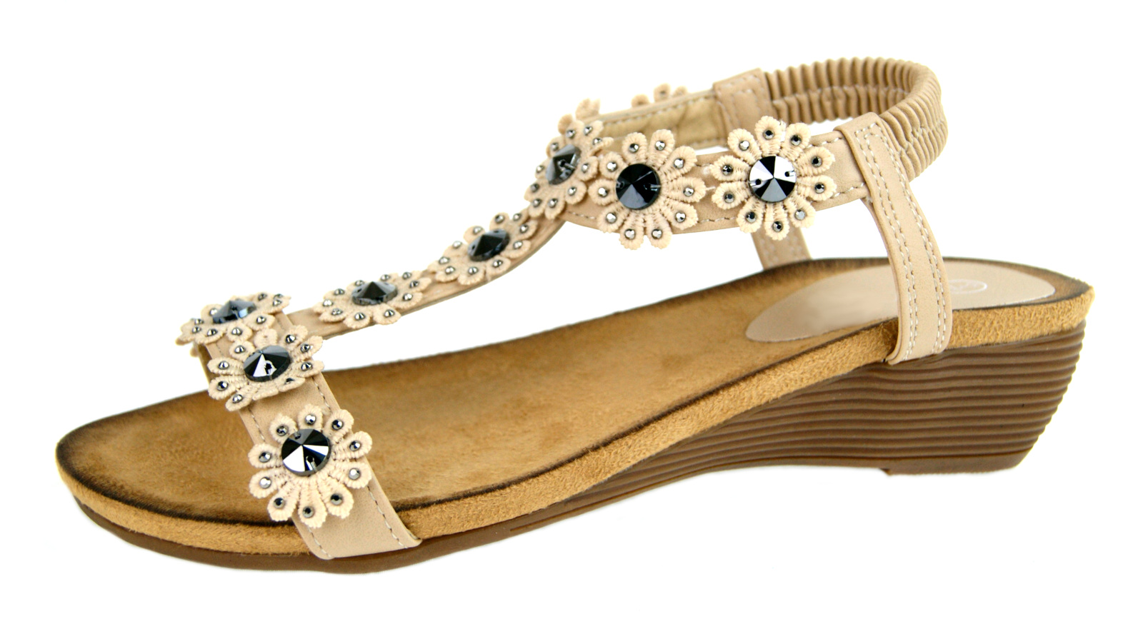glitter summer sandals
