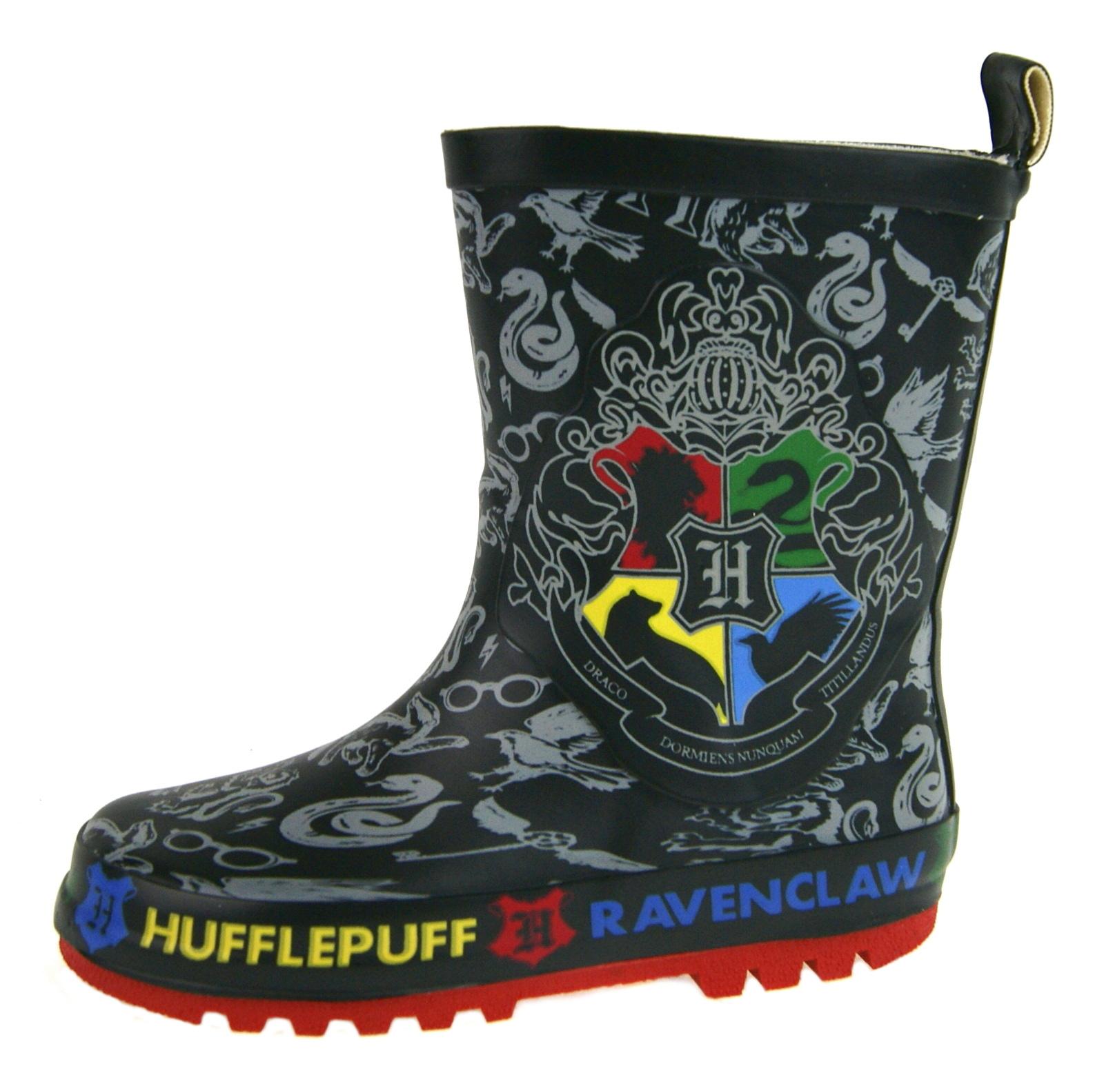 Boys Harry Potter Wellington Boots Kids
