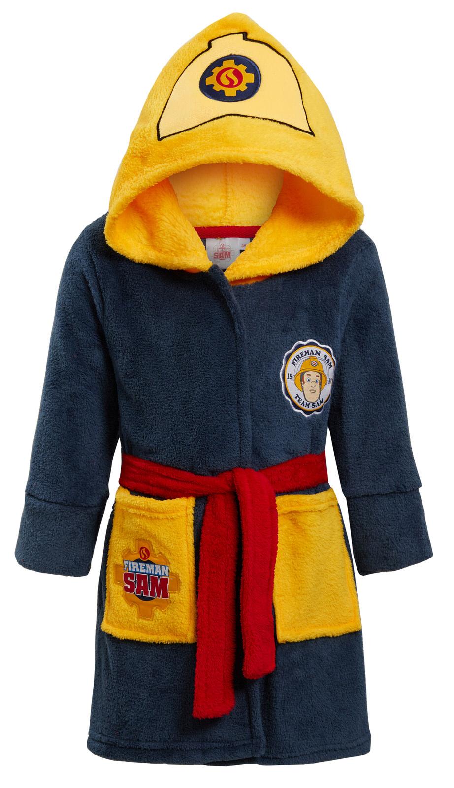 grey Fireman Sam Boys Sweat jacket with hood