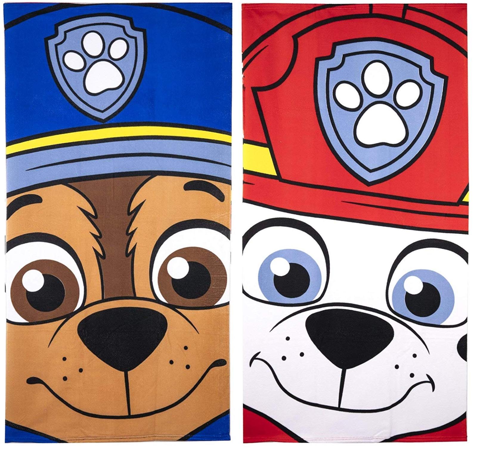 Paw Patrol Children Beach Towel,Swimming Towel,Bath Towel,Official Licensed
