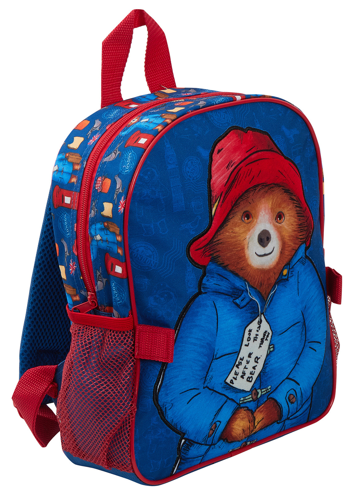 miniatuur 14 - Paddington Bear Kids Backpack + Detachable Lunch Bag/Pencil Case Nursery School