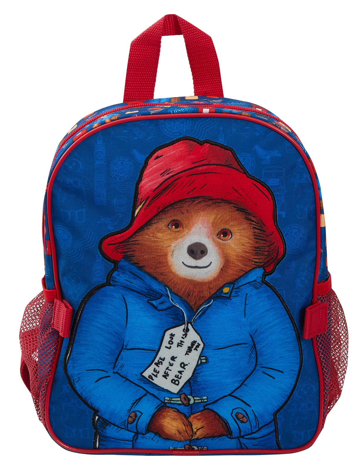 miniatuur 15 - Paddington Bear Kids Backpack + Detachable Lunch Bag/Pencil Case Nursery School