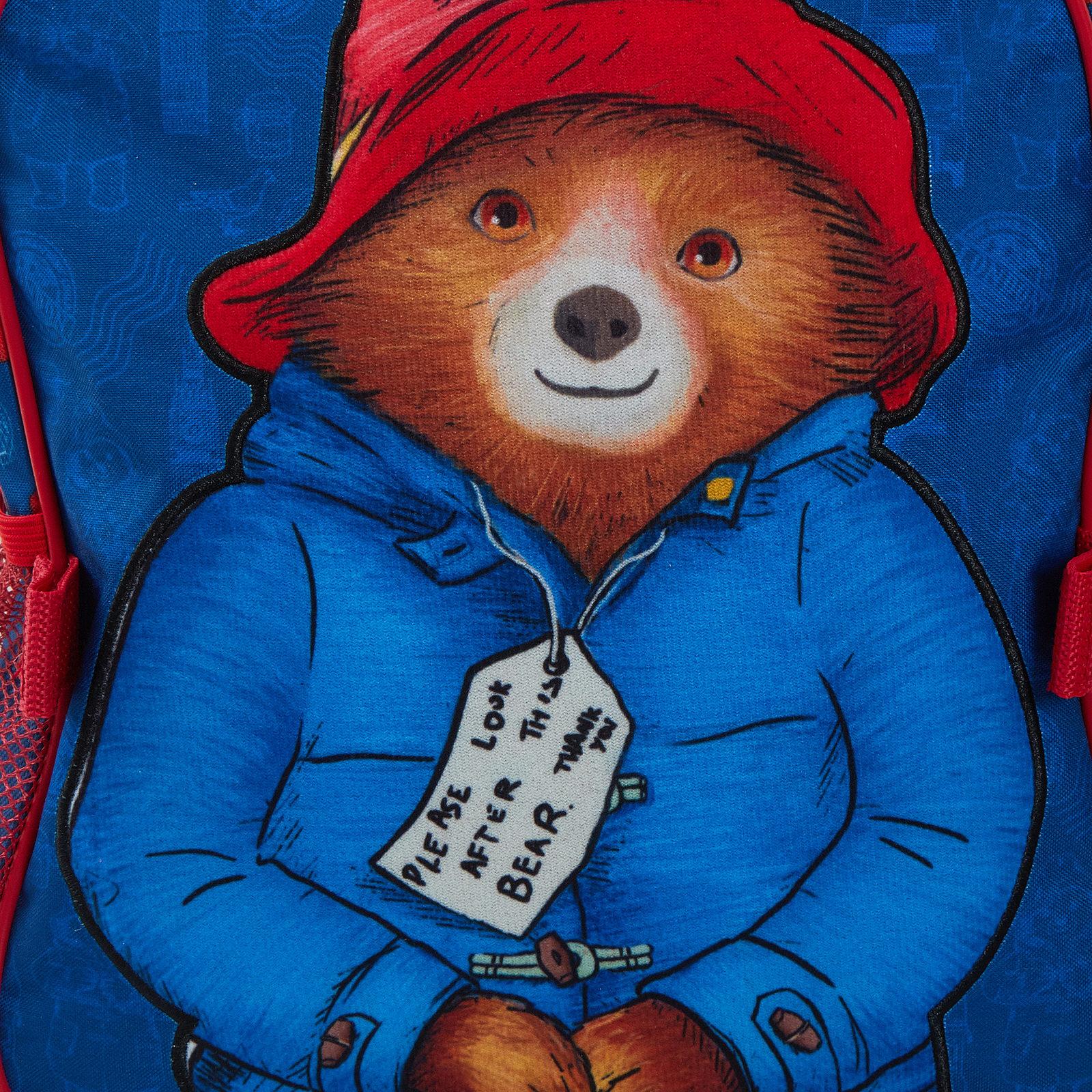 miniatuur 18 - Paddington Bear Kids Backpack + Detachable Lunch Bag/Pencil Case Nursery School