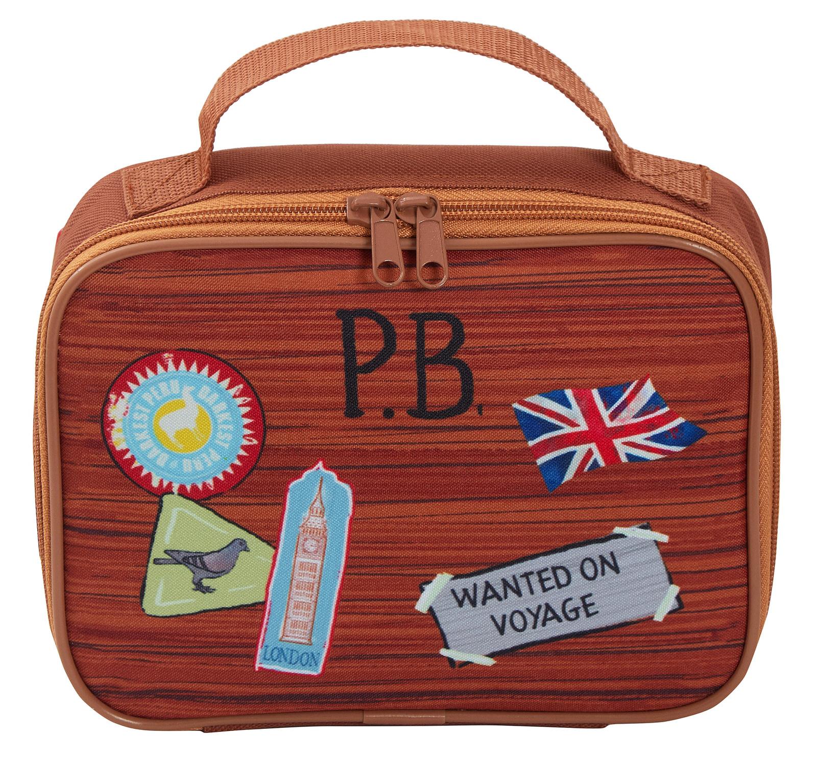 miniatuur 20 - Paddington Bear Kids Backpack + Detachable Lunch Bag/Pencil Case Nursery School