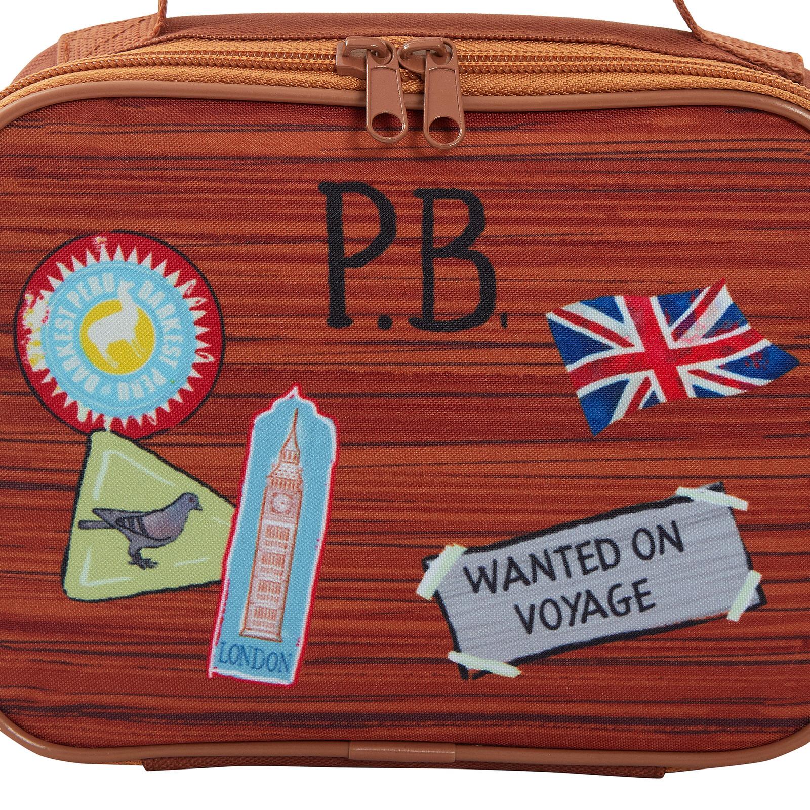 miniatuur 21 - Paddington Bear Kids Backpack + Detachable Lunch Bag/Pencil Case Nursery School