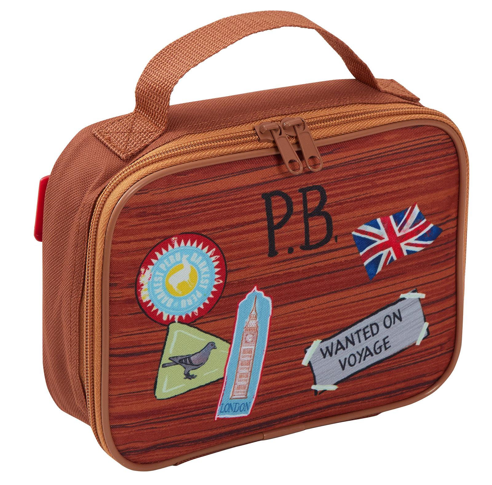 miniatuur 19 - Paddington Bear Kids Backpack + Detachable Lunch Bag/Pencil Case Nursery School