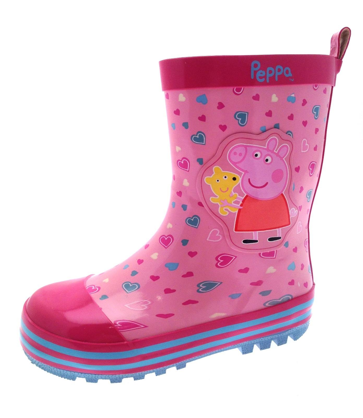 Peppa Pig Girls Rubber Wellington Boots