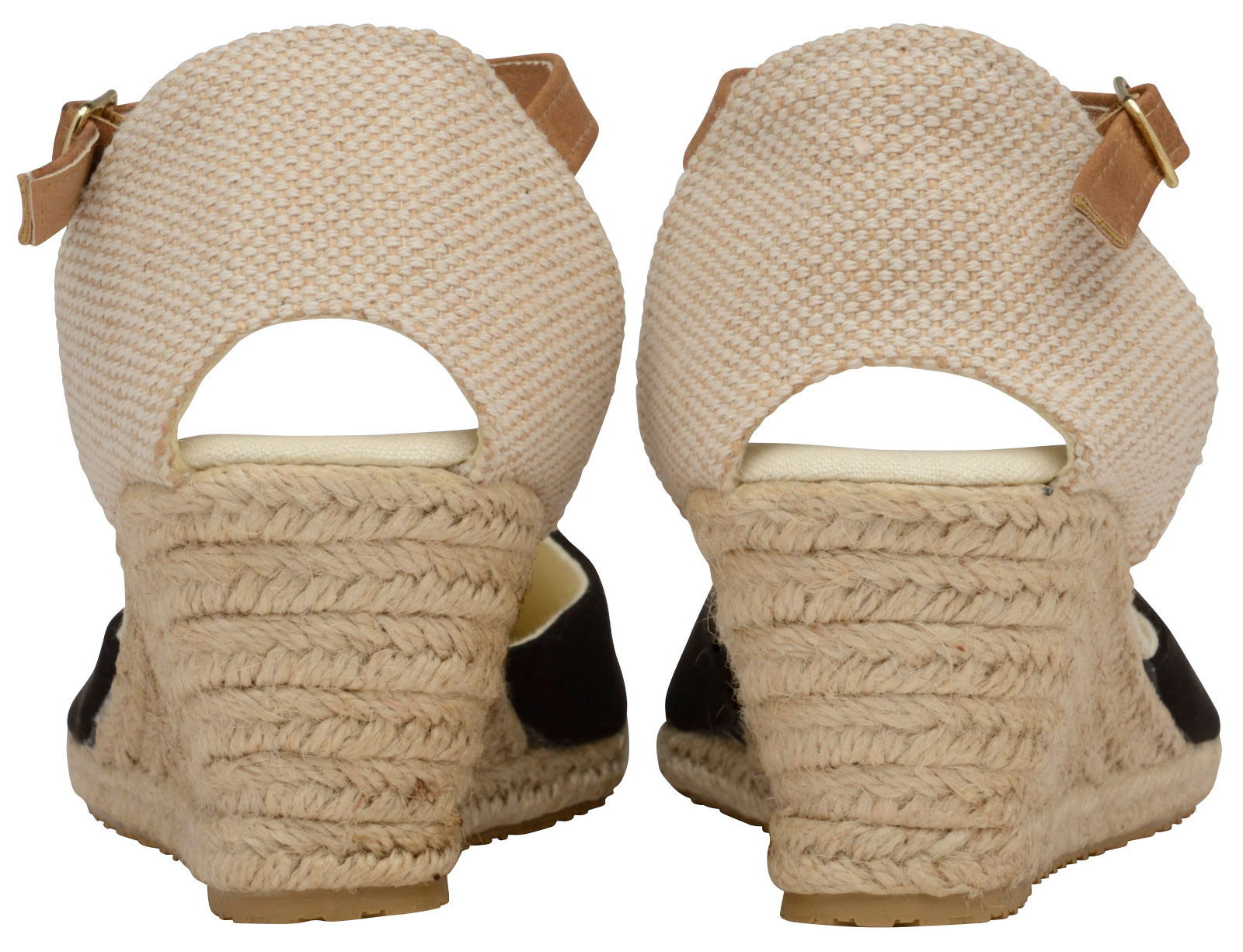 1544d3b1c96 Details about Womens Strappy Hessian Wedge Sandals Ladies High Heel Wedges  Summer Shoes Size