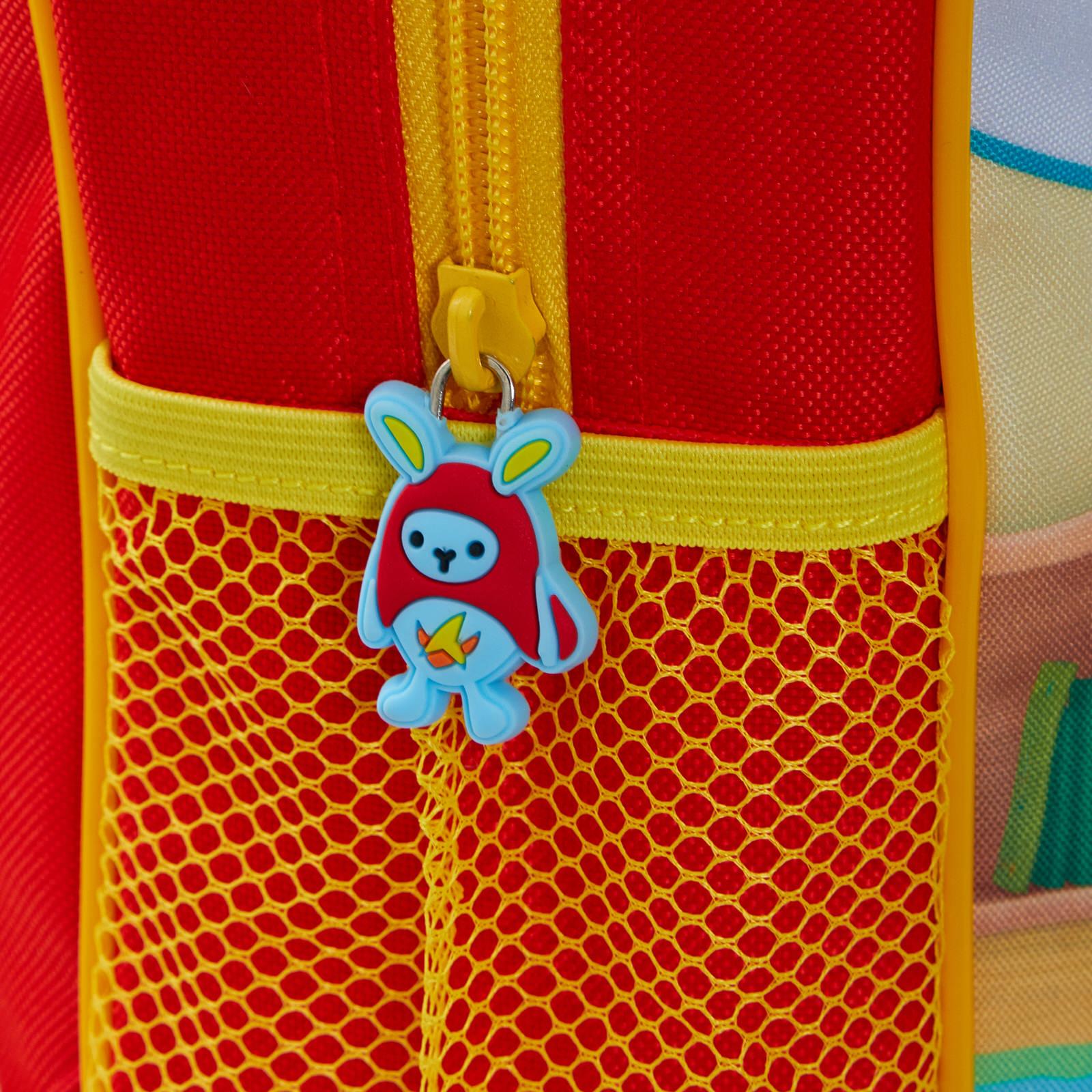 miniatuur 9 - Kids Bing Bunny 3D Plush Backpack Boys Girls Nursery School Rucksack Lunch Bag