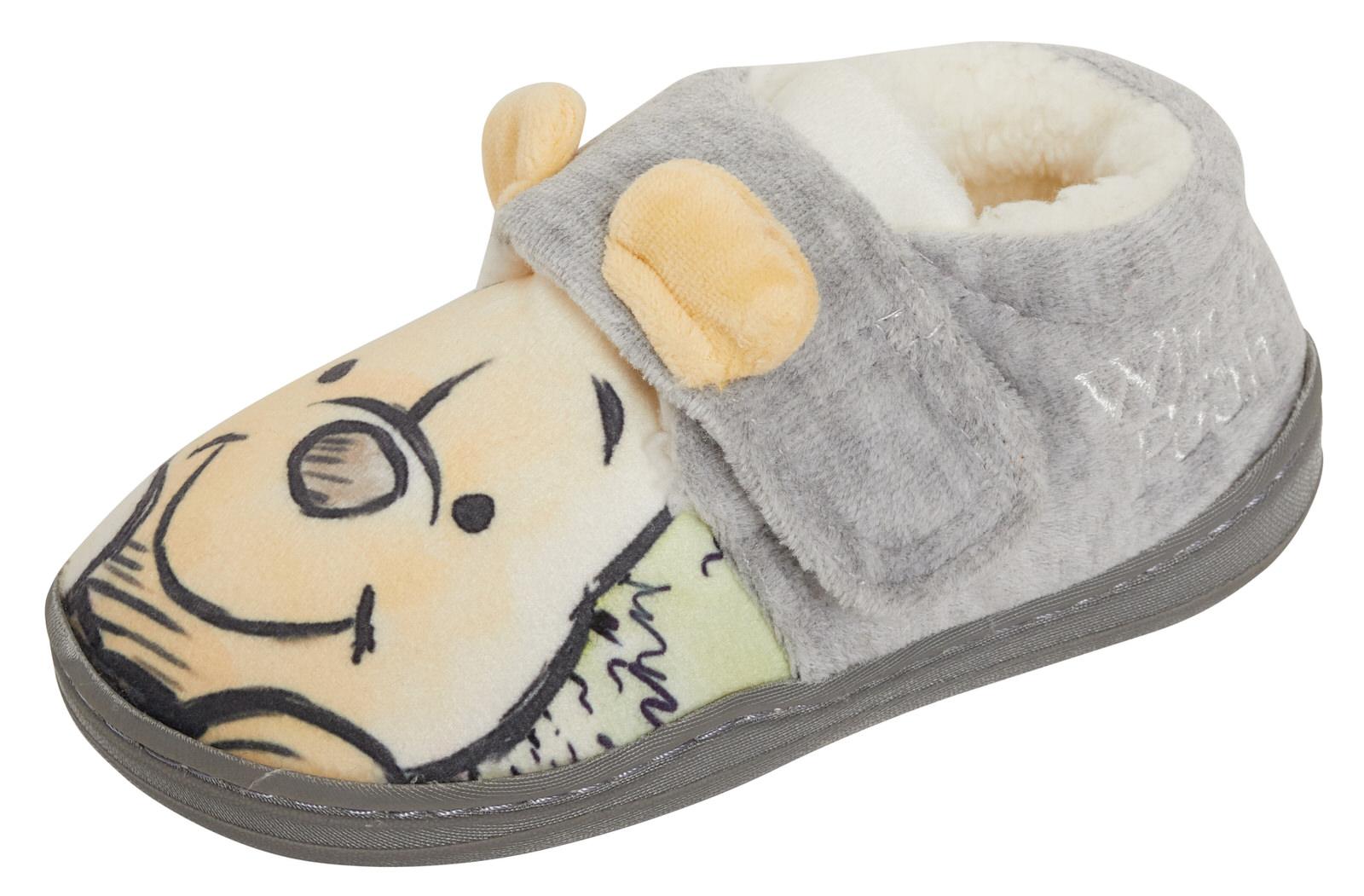Disney Winnie The Pooh 3D Slippers Boys