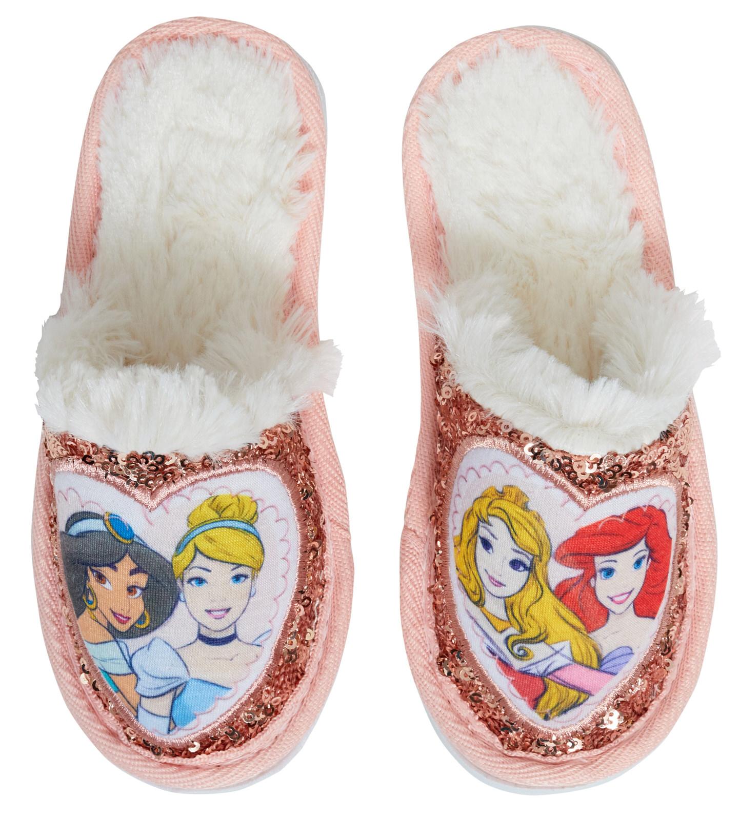 Girls Disney Princess Glitter Sequin