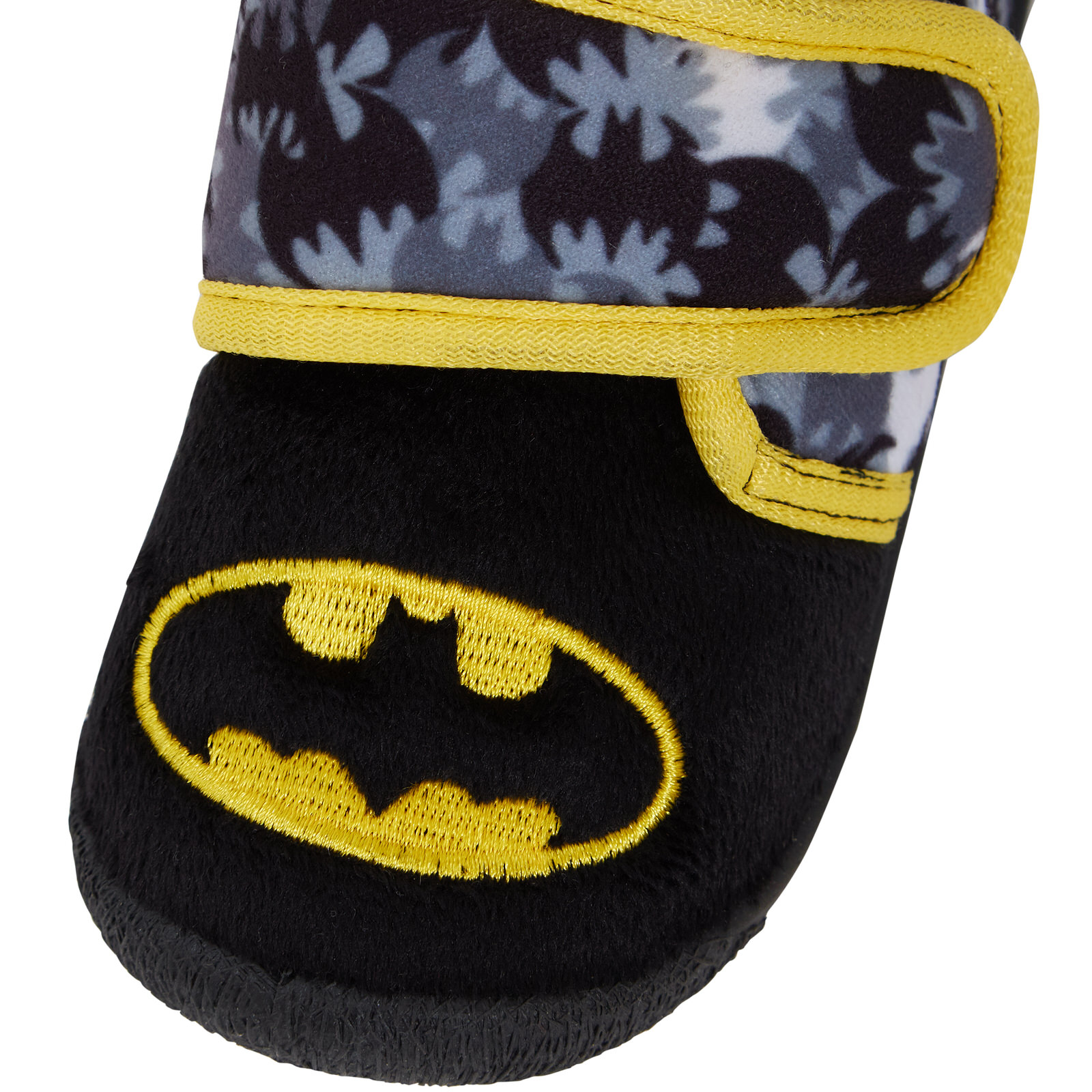 Batman Easy Touch Slippers DC Comics Superhero Mules House Shoes Boys Girls Size