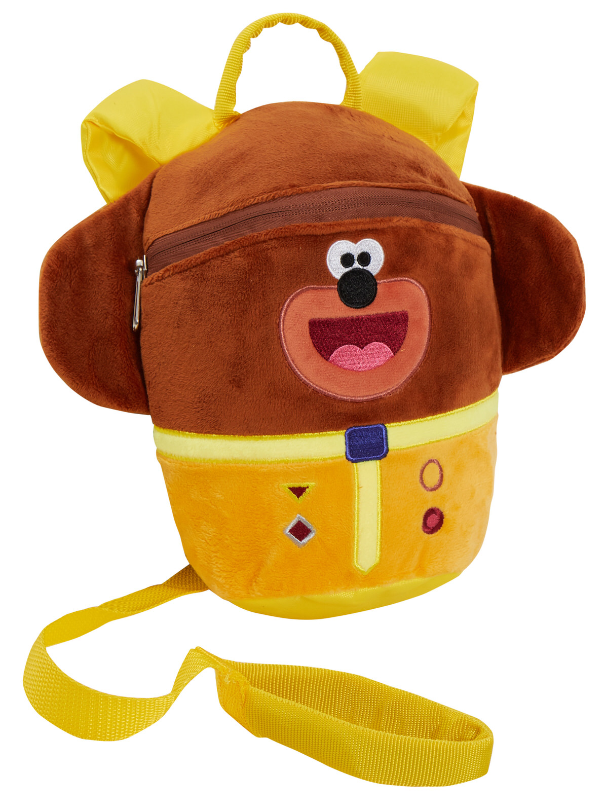 Plush-Hey-Duggee-Backpack-With-Reins-Kids-Detachable-Safety-Harness-Nursery-Bag thumbnail 7
