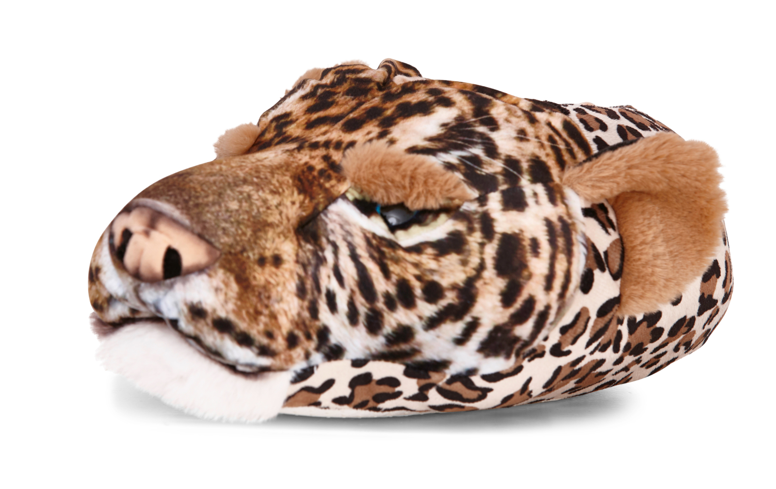 Mens Novelty 3D Dog Slippers Character Booties Plush Animal Mules Xmas Gift Size