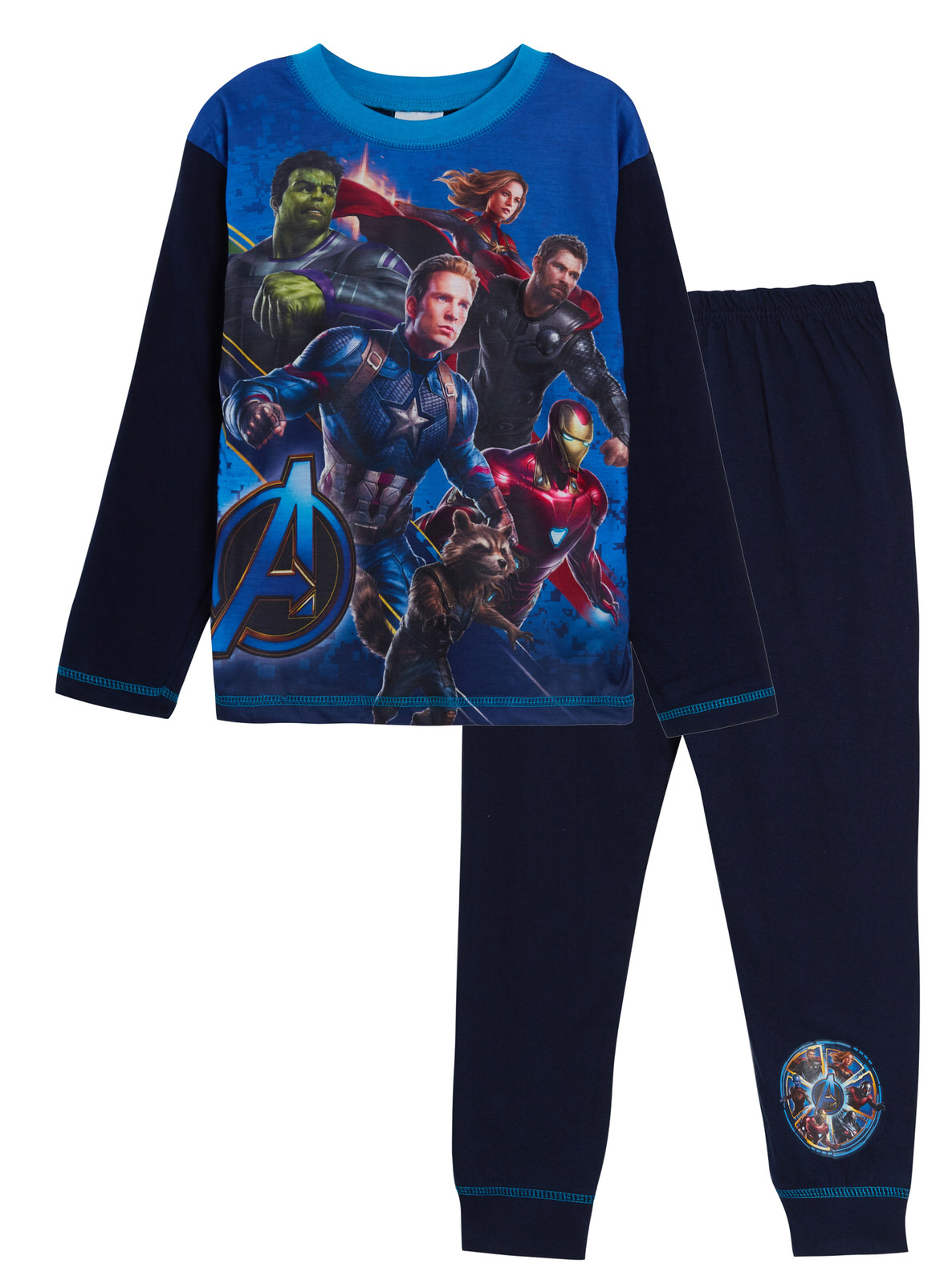 Sizes 4-10 Years Boy/'s Official MARVEL COMICS Pyjamas //AVENGERS Cotton PJs
