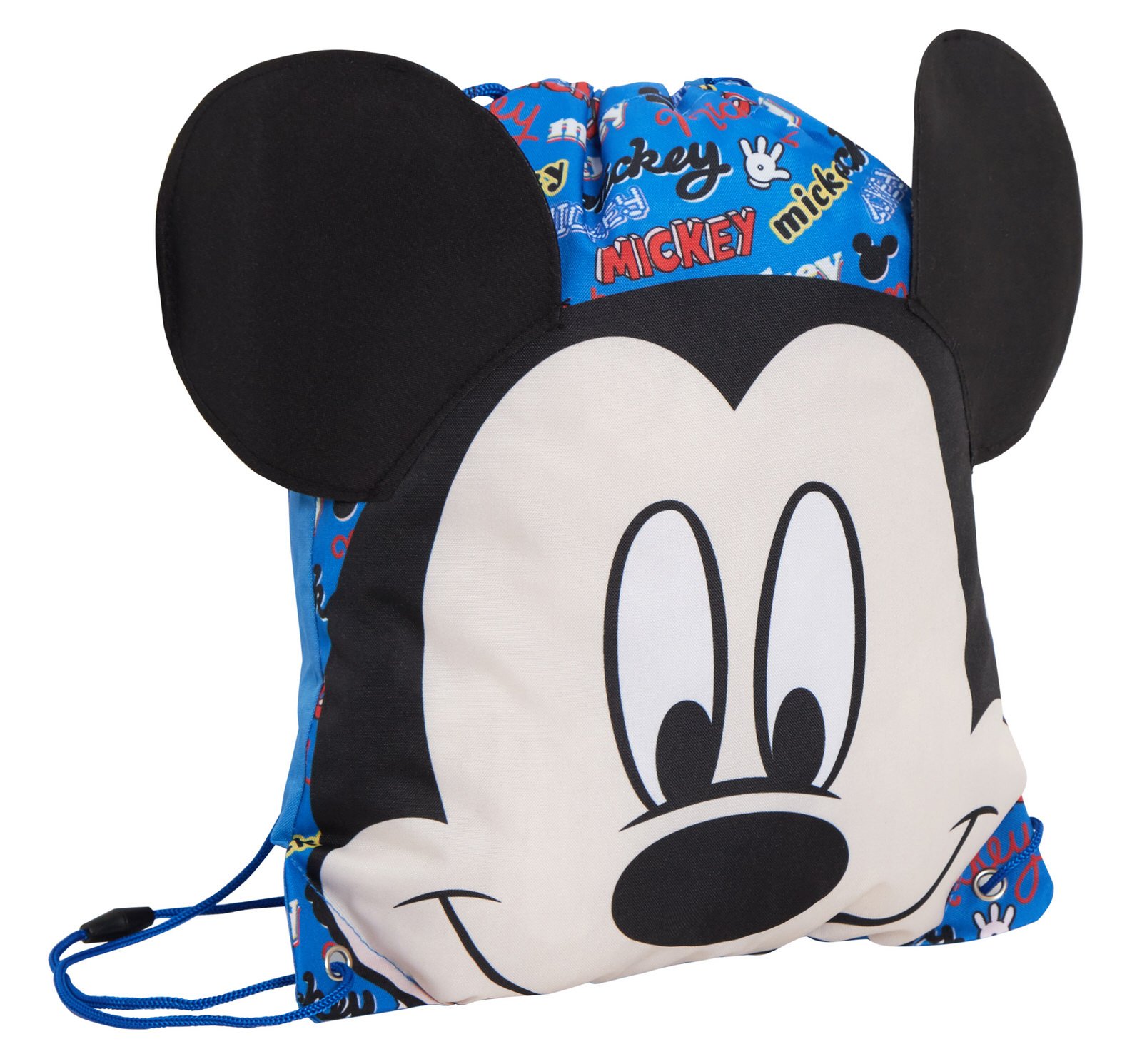 Boys Disney Mickey Mouse Drawstring Bag