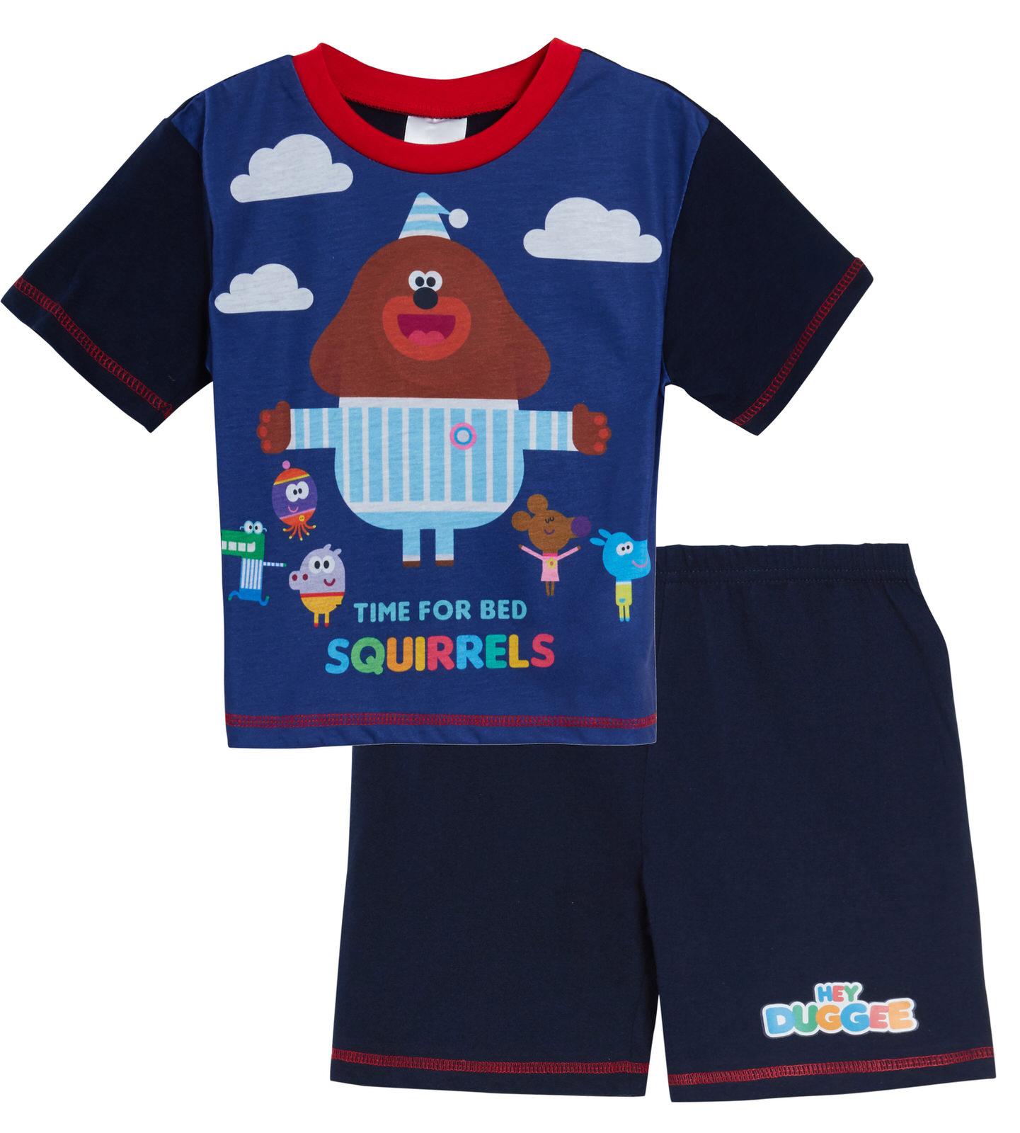 Hey Duggee Boys Squirrel Club Pajamas