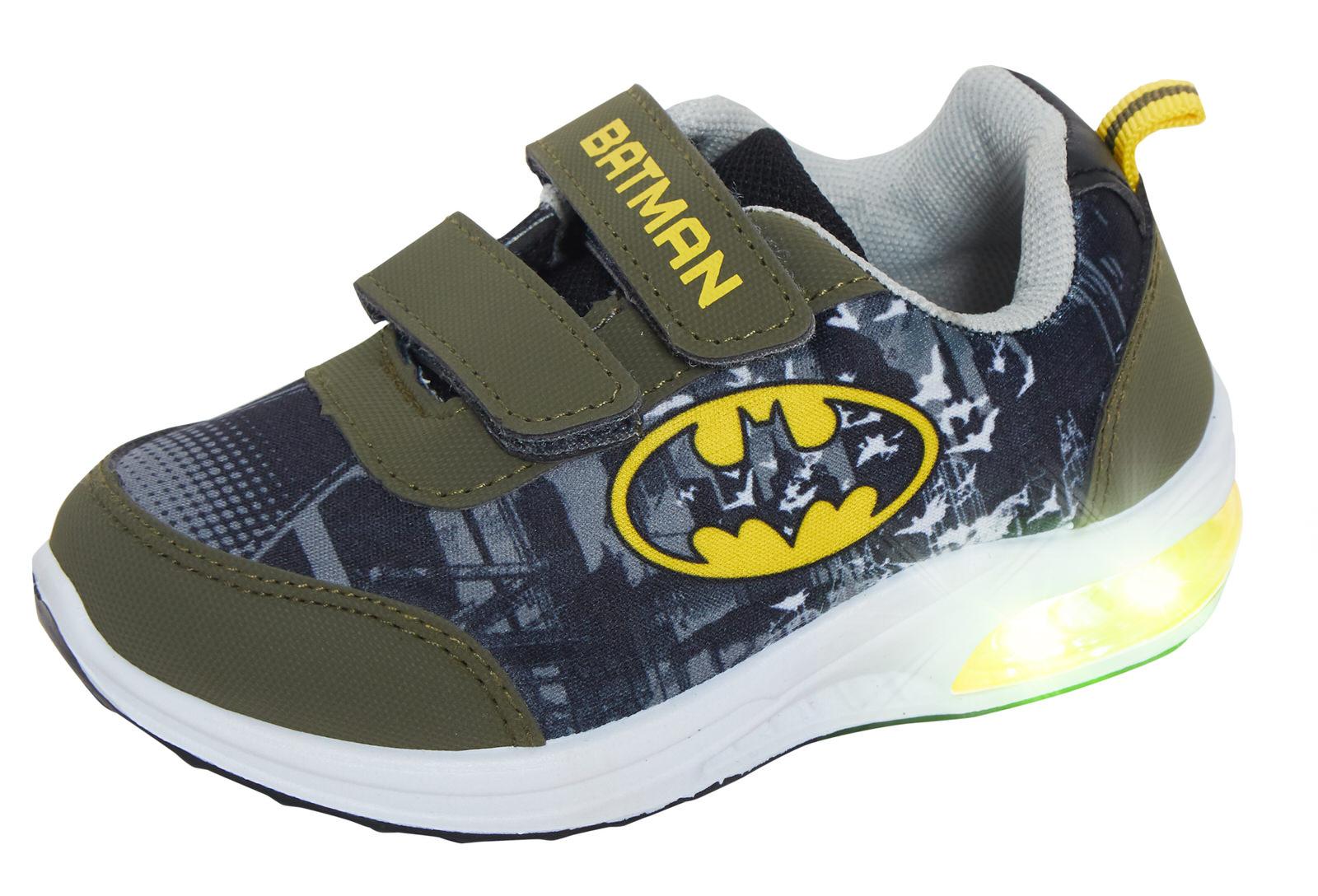 Batman Boys Light Up Sports Trainers
