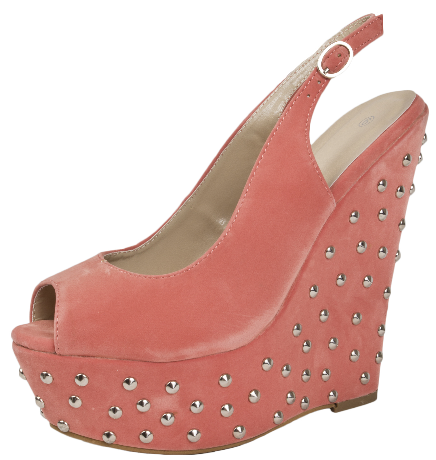 To acquire Red heels wedge with spikes picture trends