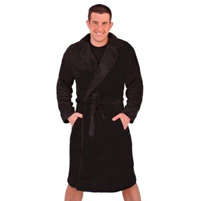 Mens luxury soft fleece bathrobe dressing gown housecoat warm robe mens luxury soft fleece bathrobe dressing gown housecoat sciox Image collections