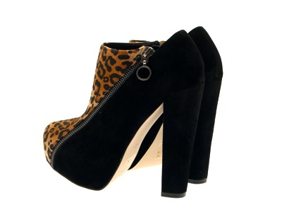 Womens-Platform-Ankle-Boots-Wooden-Block-High-Heels-Lace-Up-Ladies-Shoes-Size miniatuur 25