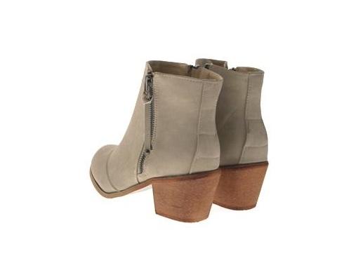 WOMENS-COWBOY-ANKLE-BOOTS-BLOCK-HIGH-HEELS-STUDS-GLITTER-ZIP-LADIES-SHOES-SZ-3-8 miniatuur 60