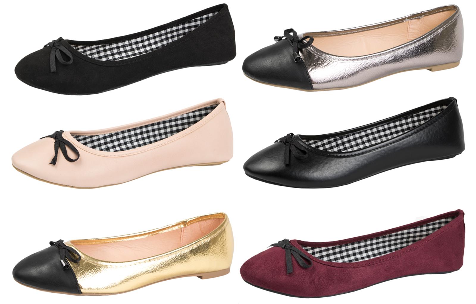 ladies glitter flat shoes