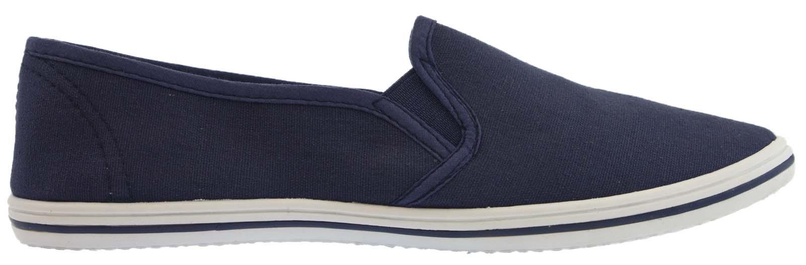 756e792f70e Mens Canvas Pumps Plimsoles Plimsolls Trainers Espadrilles Shoes Boys Size  UK 7-12 Shoe Directory