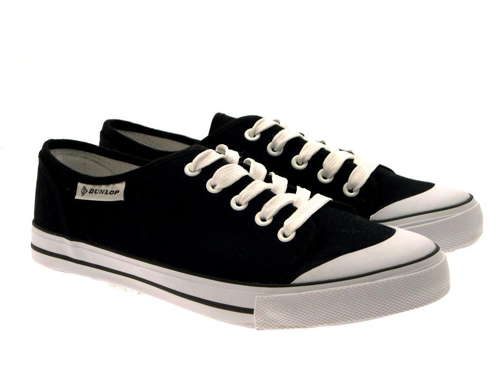 903f6afacc0 Womens Shoes Plimsolls Trainers Pumps Plimsoles Canvas Dunlop Girls fxYnAn
