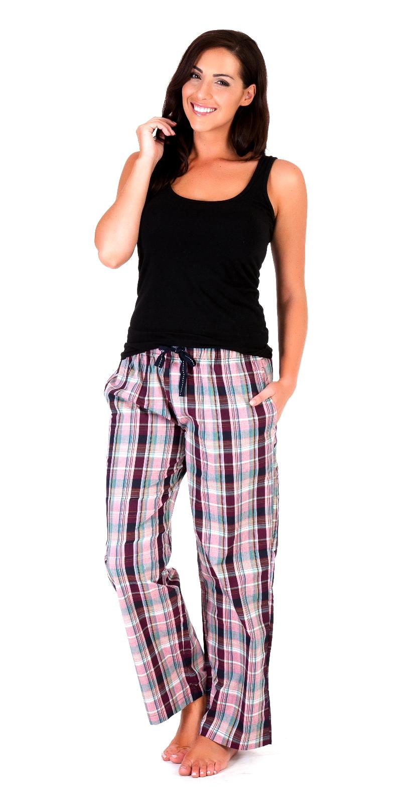 Womens Nightwear Casual Lounge Pants Ladies Pyjamas PJ Bottoms Warm ... 18788a6a0