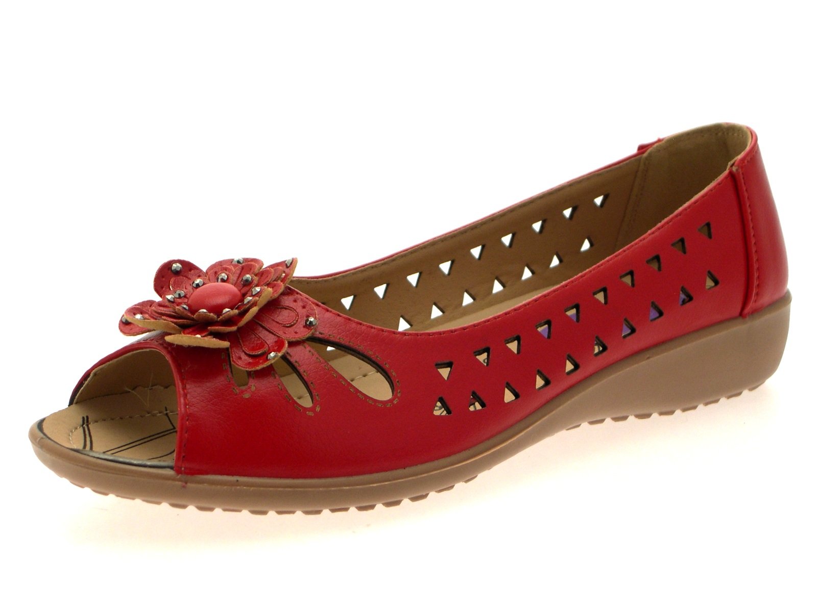 Womens Flowers Shoes Uk