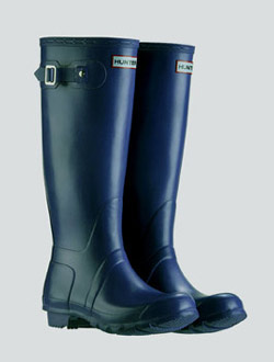 Genuine-new-hunter-original-tall-unisexe-bleu-marine-bottes-tailles-uk-3-12