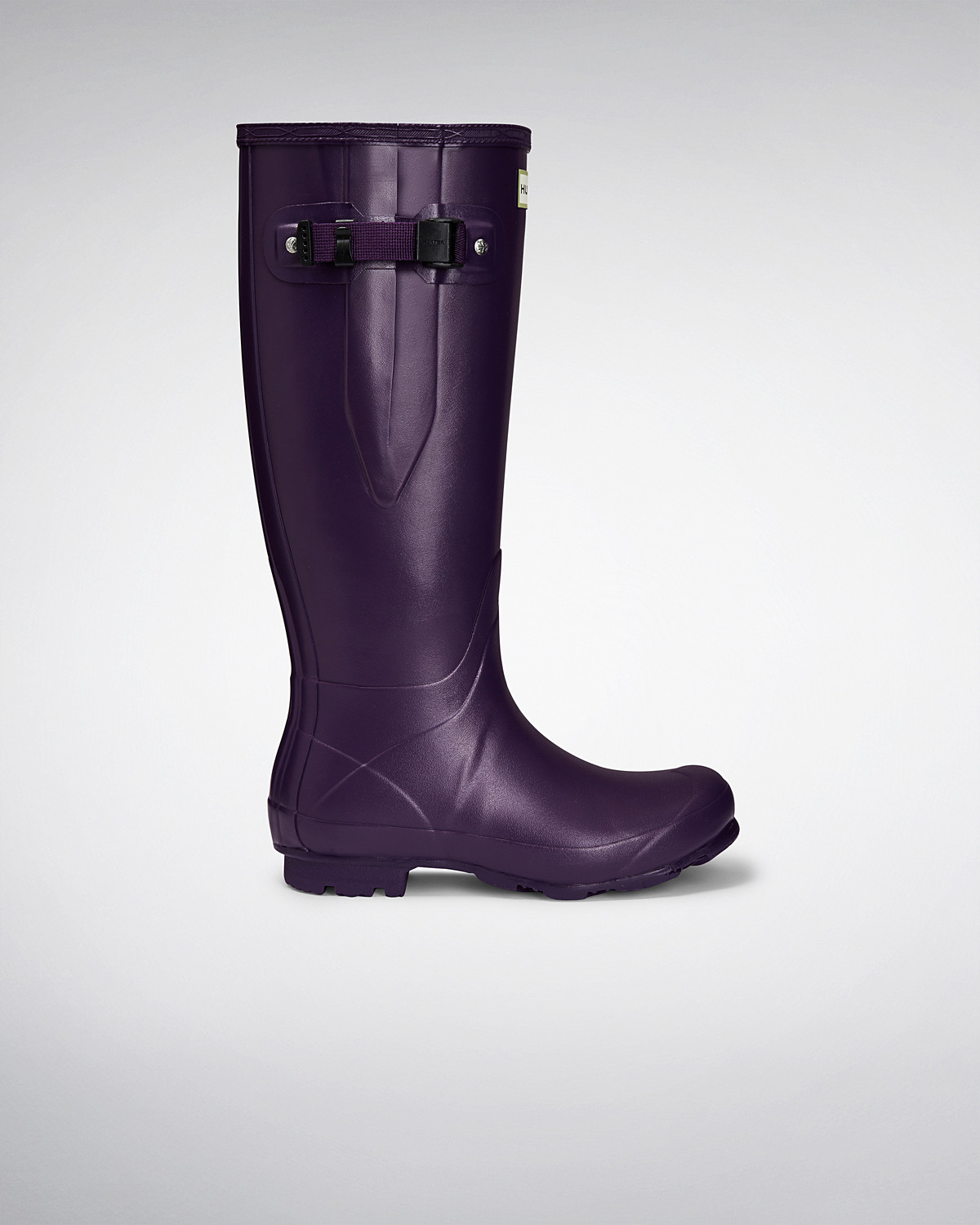 Hunter Damenschuhe Norris Field Side Adjustable Wellington Wellington Wellington Boot Dark Iris ... 7ddb1b