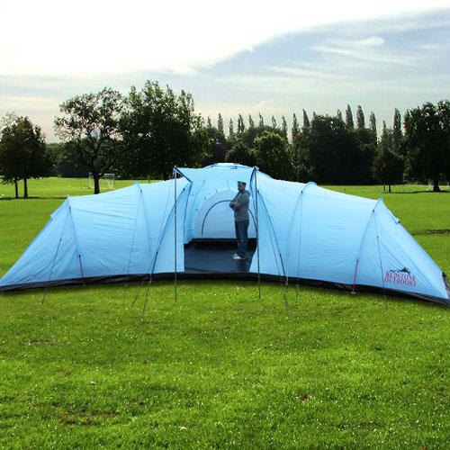 ... Everest 12 Man Tent - Inside Bedroom Image ... & Everest 12 Man Tent | Large Family Camping Tents | Buy Online ...
