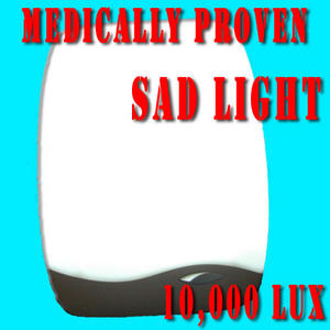 Mini SAD Light Box - 10,000 lux Seasonal Affective Disorder - Day Light Therapy  Preview