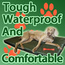 View Item Redbone Waterproof Dog Bed Medium
