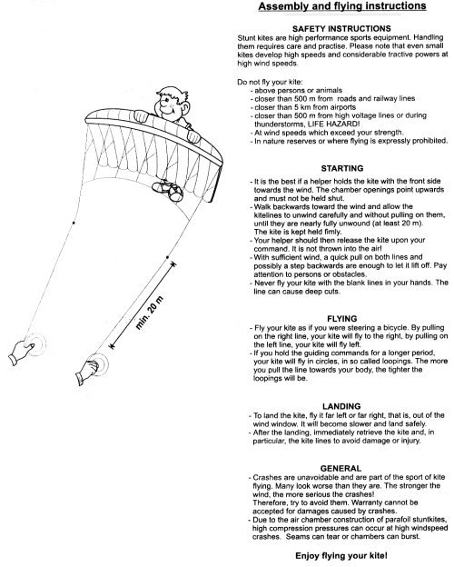 how to fly a dual line kite