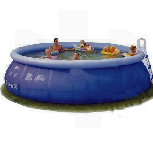 "12ft Swimming Pool: 12ft X 30"" Inflatable Swimming Pool + Filter Pump"