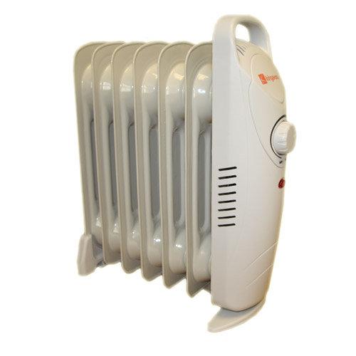 600w 7 Fin Mini Oil Filled Radiator Heater Heaters