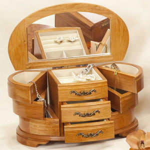 Mele Jewellery Box Sharon Wooden Jewel Case Mele Jewellery Box