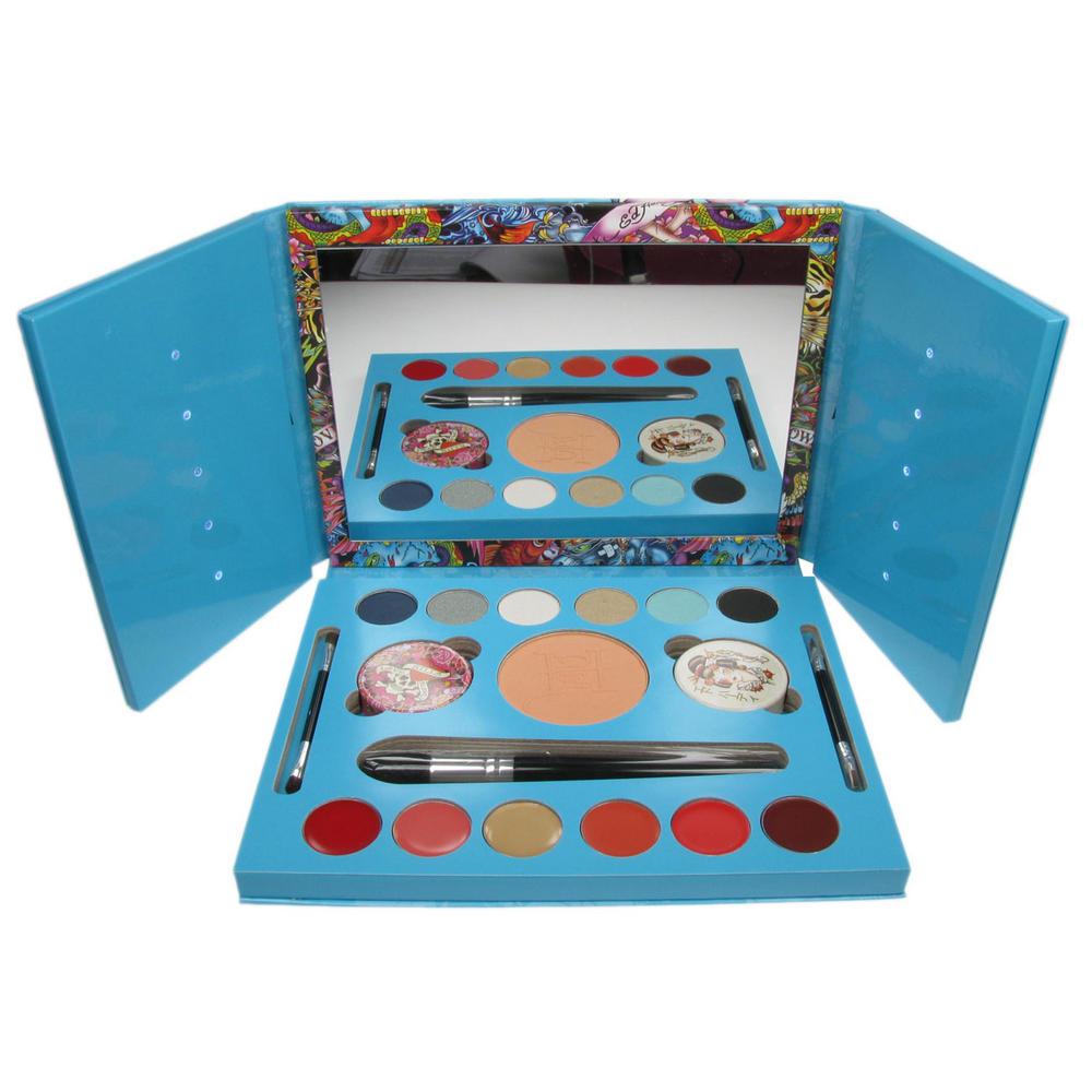 Ed Hardy Color Make Up Set Geisha Blue Make Up