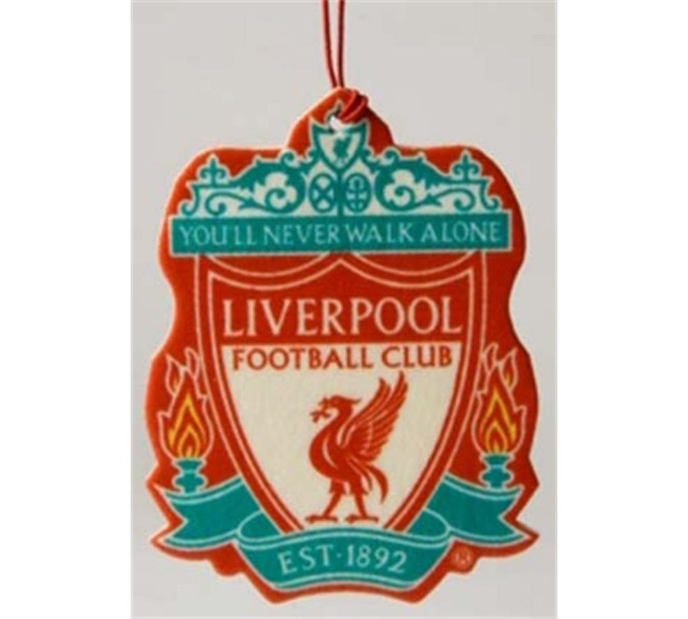 Official Liverpool FC Crest Car Air Freshener Sealed Car Accessories | Urban Trading