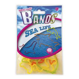 12 Pack Wacky Lacky Bands Jelly Bracelets - Sea Life Preview