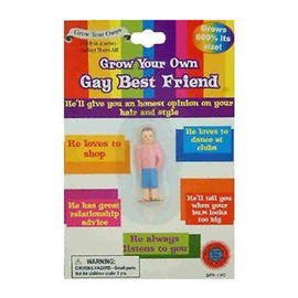 Grow Your Own Gay Best Friend - Adult Novelty Joke Gift Grows 600% Preview