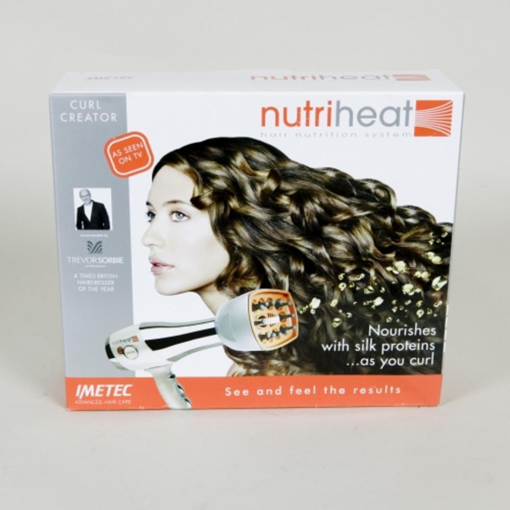 Imetec Nutriheat Curl Creator 1811 Powerful Hair Dryer