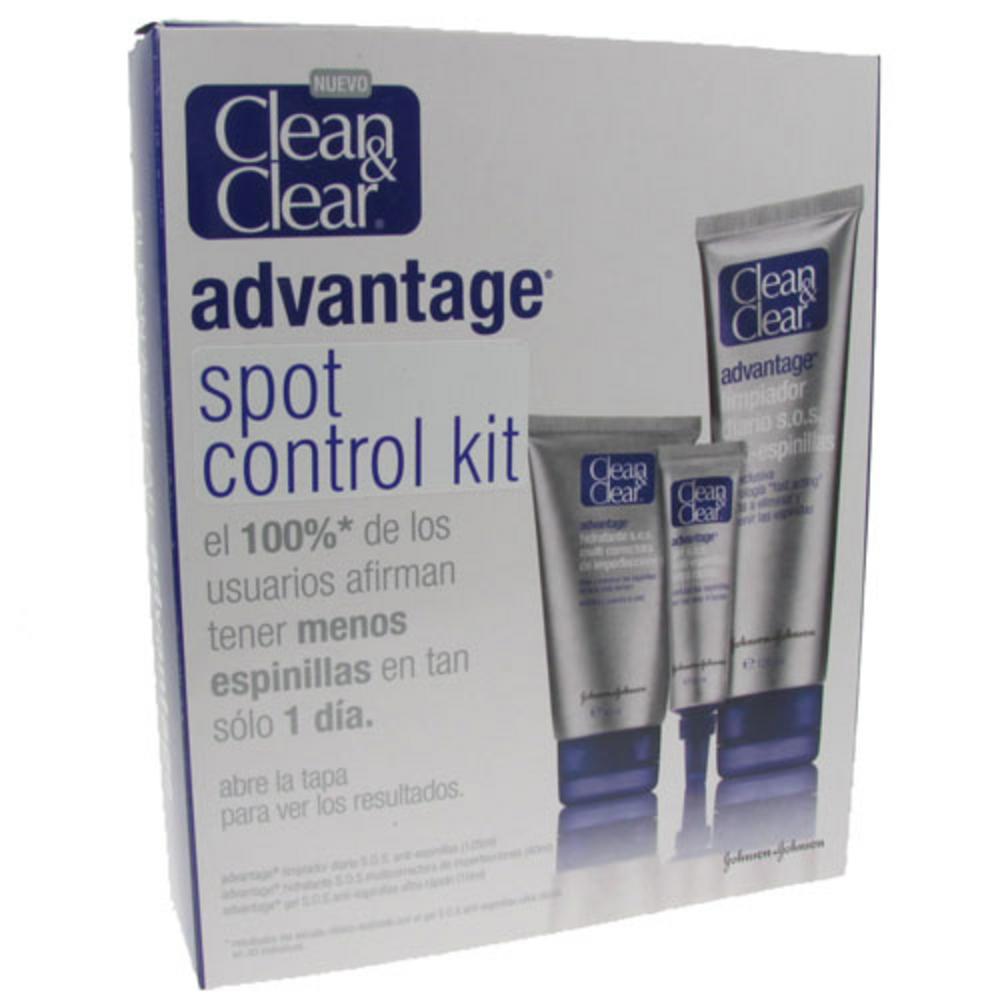 Kit Control Anti-espinillas de Clean Clear