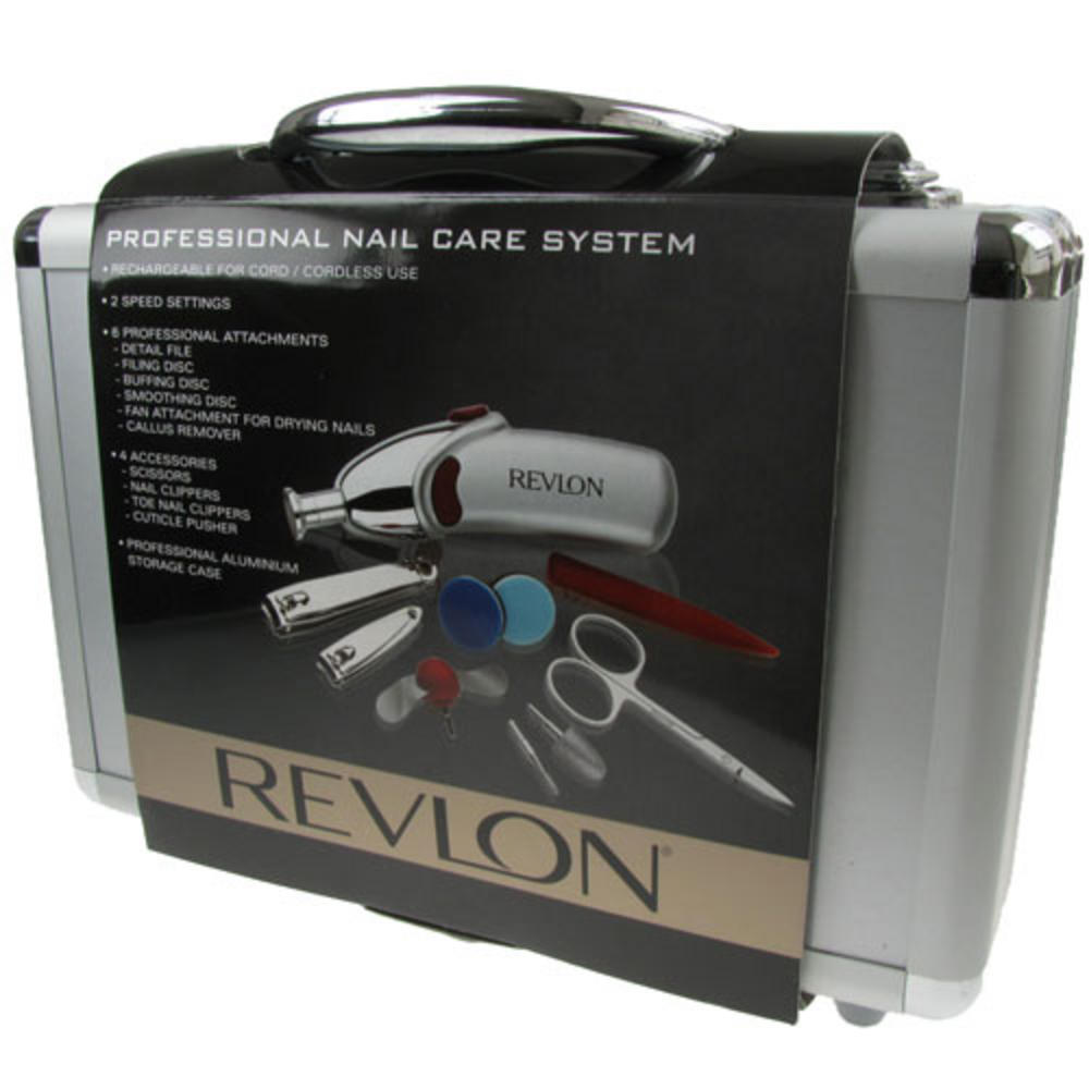 Revlon Professional Nail Care System Manicure Set 9414 Nail Care ...