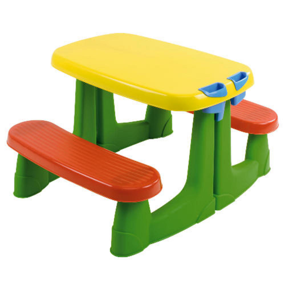 Keter Kids Garden Villa Toy Playhouse Amp Picnic Table Set