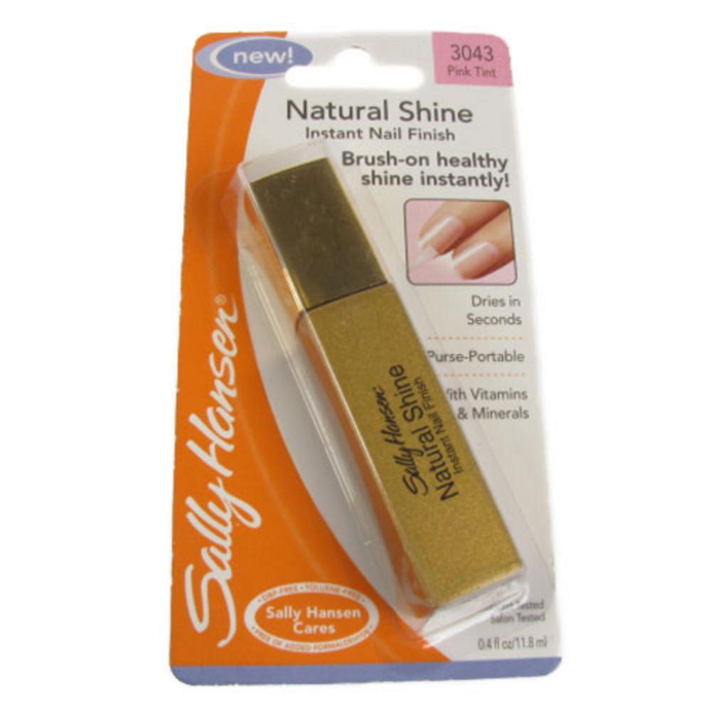Sally Hansen Natural Shine Instant Nail Finish 11.8ml - Pink Tint ...